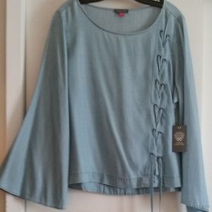 New Vince Camuto Denim Top